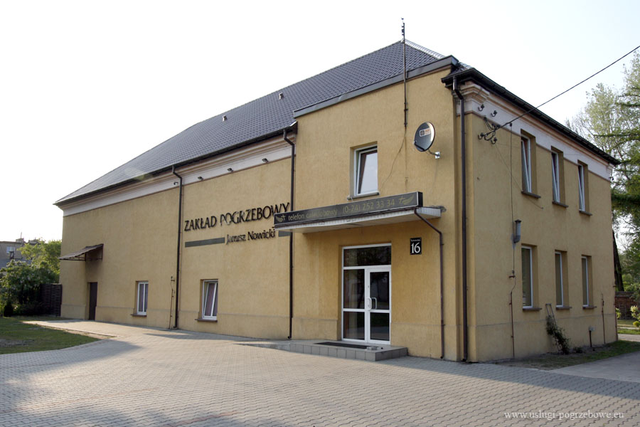 Biuro usług pogrzebowych w Krośniewicach